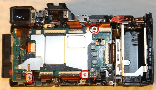 sony Nex-7 repairing pcb controller card