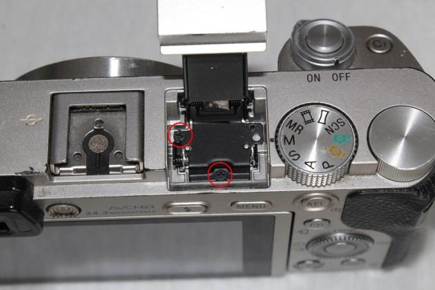 sony a6000 top flash repair