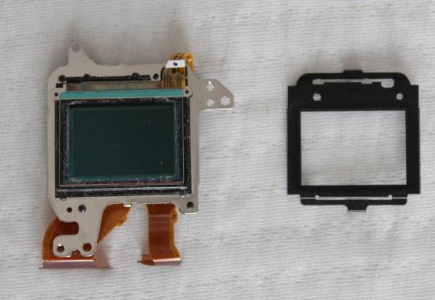 sensor cleaning filter replacing