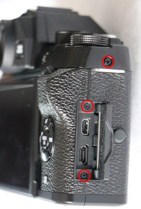 Fujifilm X-T100 Hdmi Charge Input Usb Port Door