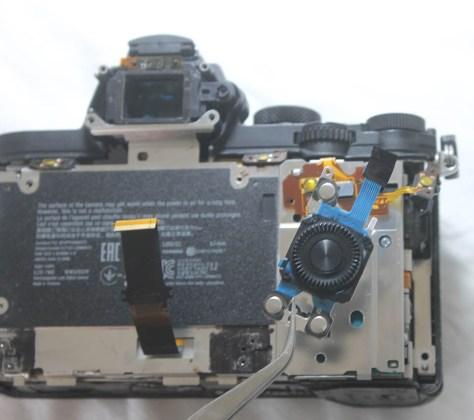 a7-ii wheel button repair