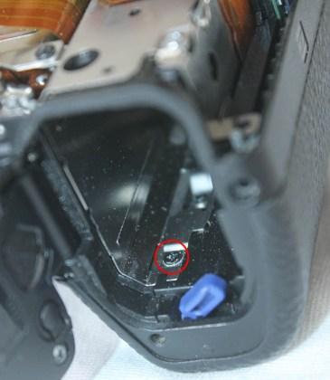 a7ii battery door