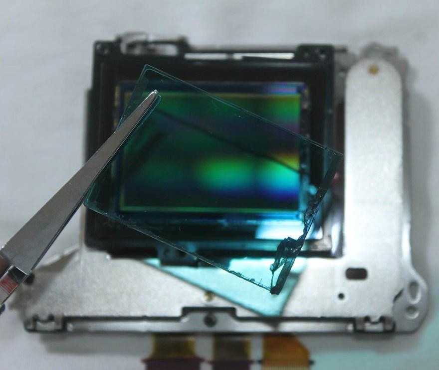 a7-ii sensor low pass filter-remove-convert for ir photography