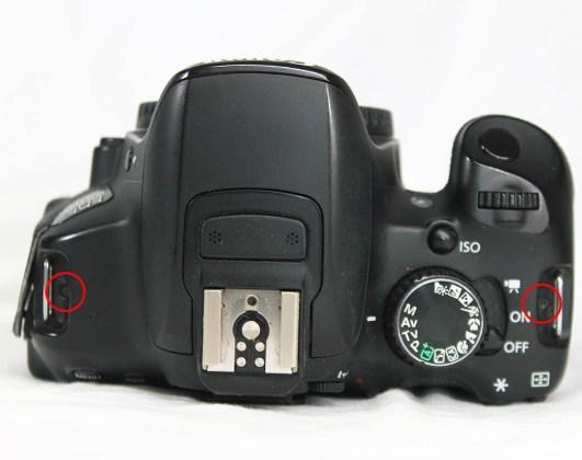 canon 650d top cover flash mod dial