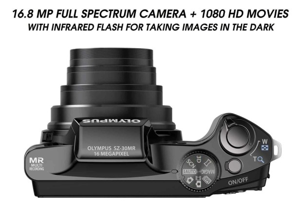 full spectru ghost hunting camera