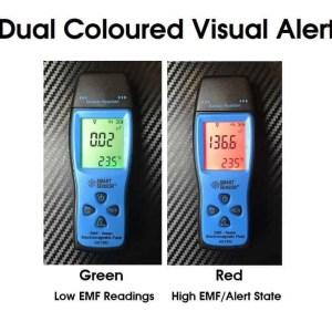 emf temperature ghost hunting meter