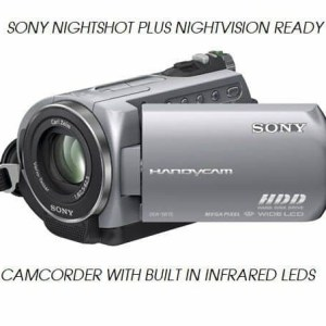 SONY DCR SR52 NIGHTSHOT NIGHTVISION GHOST HUNTING CAMCORDER