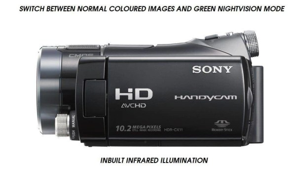 SONY NIGHTSHOT CAMCORDER GHOST HUNTING