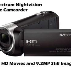ghost hunting camcorder sony nightshot camera
