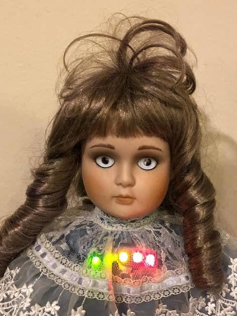 ghost hunting trigger doll