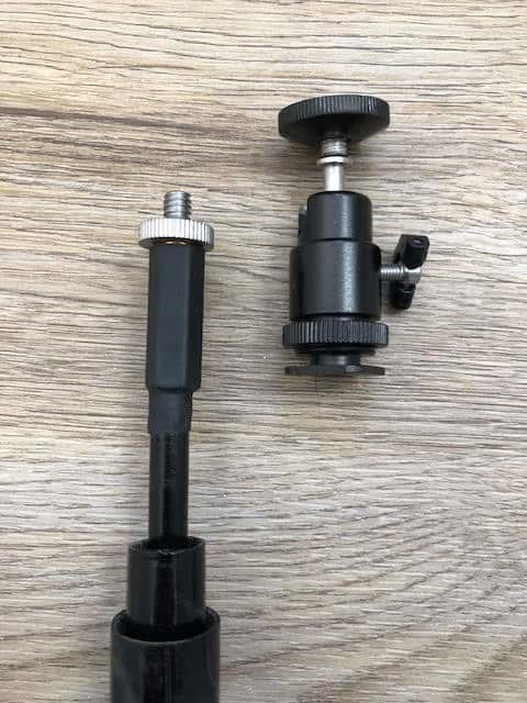 telescopic camera pole 10m