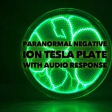 negative ion generator tesla plate