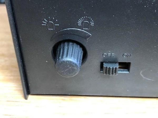 battery strobe ghost light