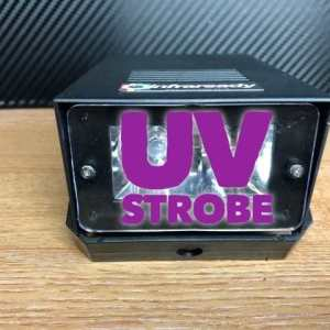 uv strobe battery portable