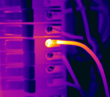 Hot wire1 Infrared Imaging Services LLC 1 - Electrical Infrared