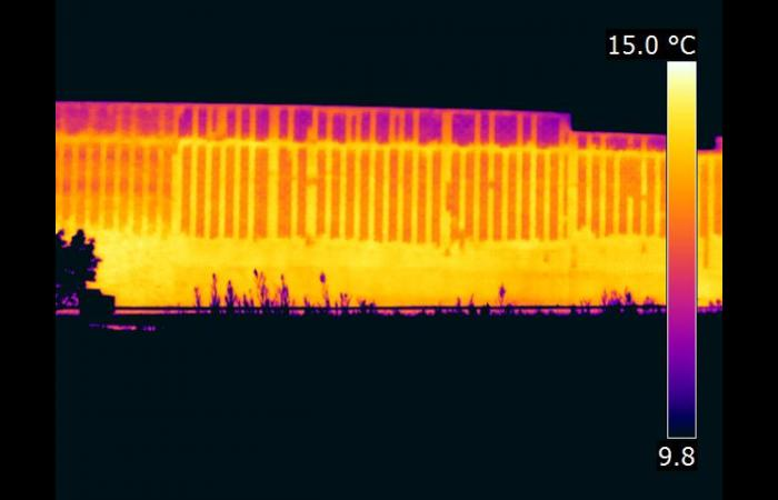 IR 0826A 0 - Infrared Block Wall Scan
