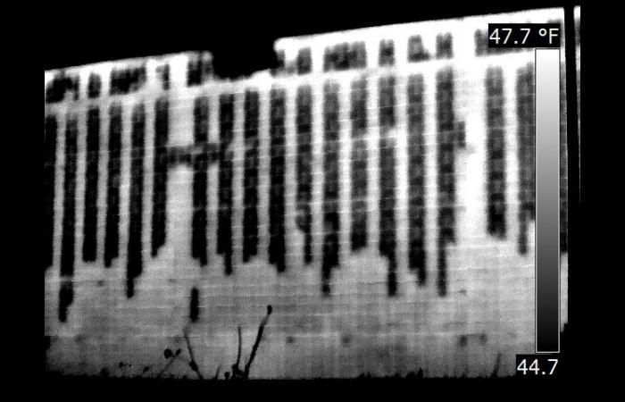 IR 0902 0 - Infrared Block Wall Scan