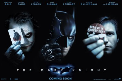 Otro poster promocional de The Dark Knight