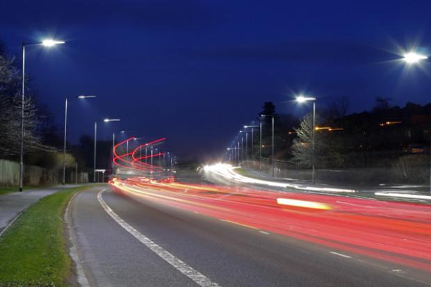 led street lighting upgrade for