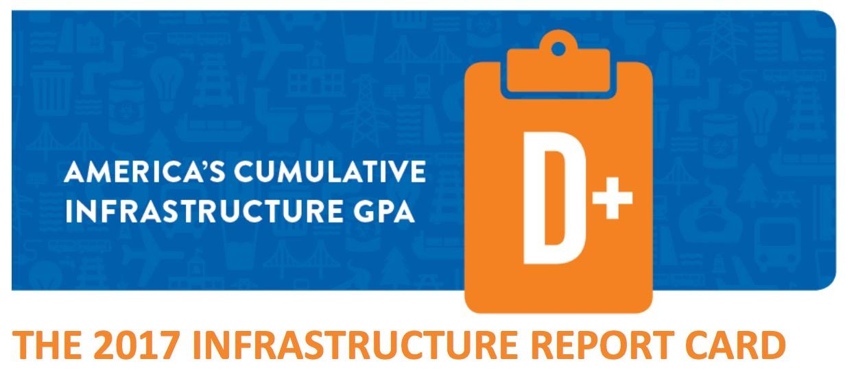 2017 Infrastructure Report Card InfrastructureUSA Citizen