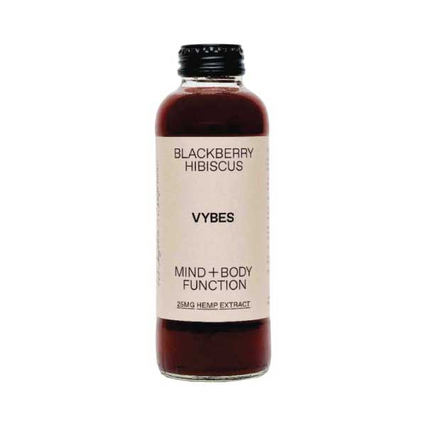 Blackberry Hibiscus CBD Beverage | Vybes