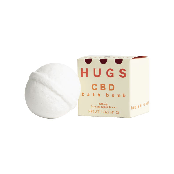 Grapefruit Bath Bomb | Hugs CBD