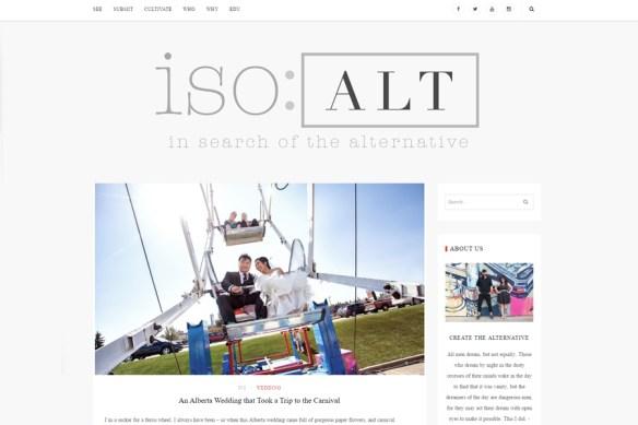 Featured Edmonton Wedding photography with Amusement park creatives on ISO: ALT