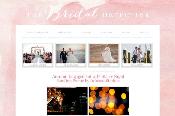 Bridal Detective :: Lisa + Drew E-session