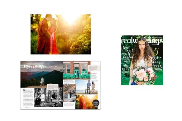 Real Weddings British Columbia :: Avanti + Ian engagement feature