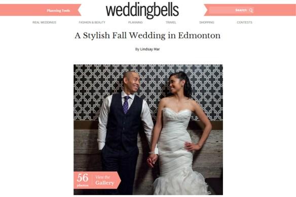 Jenn + Randy :: weddingbells feature wedding