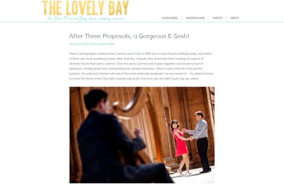 Featured Engagement Session :: Carmen + Al, San Francisco