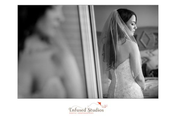 Bridal photography :: reflection