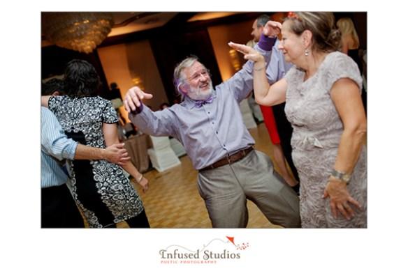 Wedding reception dance floor photography