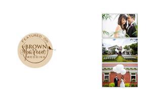 Featured Wedding :: Linda + Marcus on Brown Sparrow Wedding