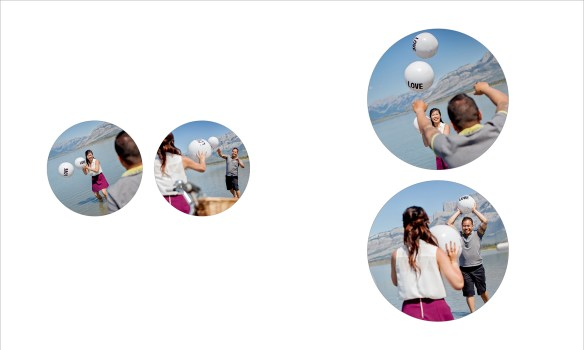 Award winning engagement photography album :: pgs 5-6