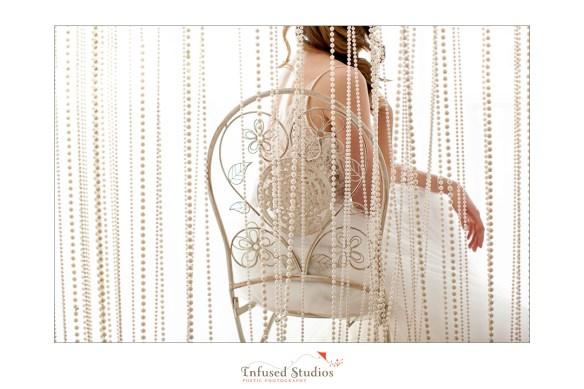 Paris inspired styled wedding shoot by Edmonton wedding photographers :: bridal portrait