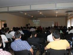 Presentación de Darío Alviso en la VII Jornada de Jóvenes Investigadores.