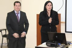 Ing. Silvana R. Ibañez y el Ing. Diego C. Ortiz