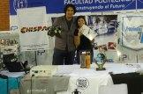 Alumnos de la FIUNA ganaron la competencia de robots realizada en la ETyC