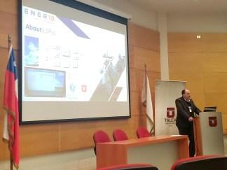 Investigadores de la FIUNA presentan resultados de cooperación en Workshop sobre energías renovables en Chile