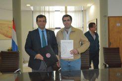 DSC_4054La FIUNA y la Industria Nacional de Cemento firmaron un convenio marco de cooperación técnico científico
