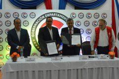 La FIUNA y la Gobernación del Departamento Central firmaron un Convenio Marco de Cooperación Interinstitucional