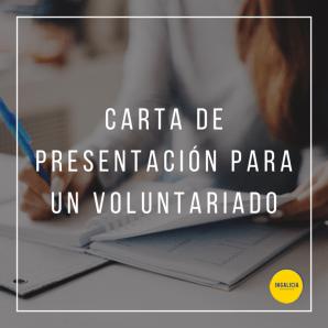 Carta presentación voluntariado