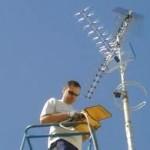 Mantenimiento de antenas de telecomunicaciones