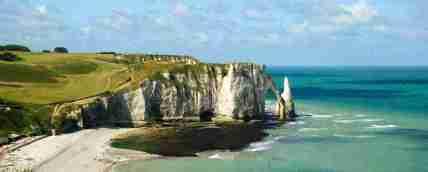 Acantilados de Etretat erosión rocas