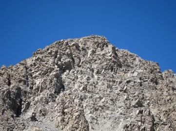 Day 3 - rocky peak and blue sky