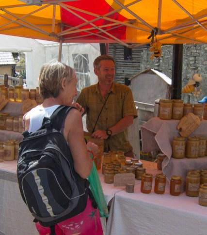 Market day in St. Veran
