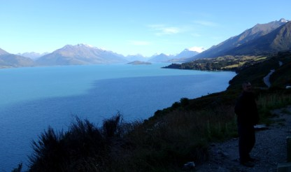 Near Glenorchy on the road to the track