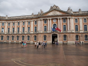 The Capitole or town hall, built in 1760.