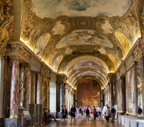 Inside the Capitole.